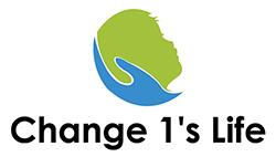 Change 1's Life Logo